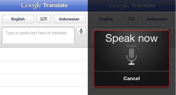 google translate, мобильное приложение